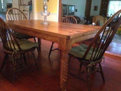 Traditional Rope Dining Table Leg