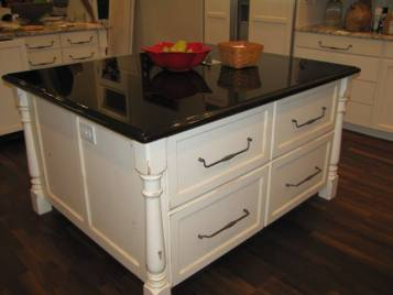 Milan Classic Corbel and Islander Kitchen Island Post