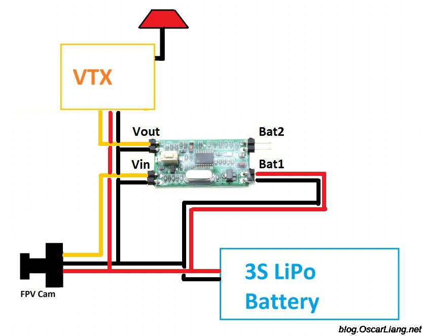 fpv wiring diagram 2008 ford escape choose osd for quadcopter | data on screen display video - oscar liang