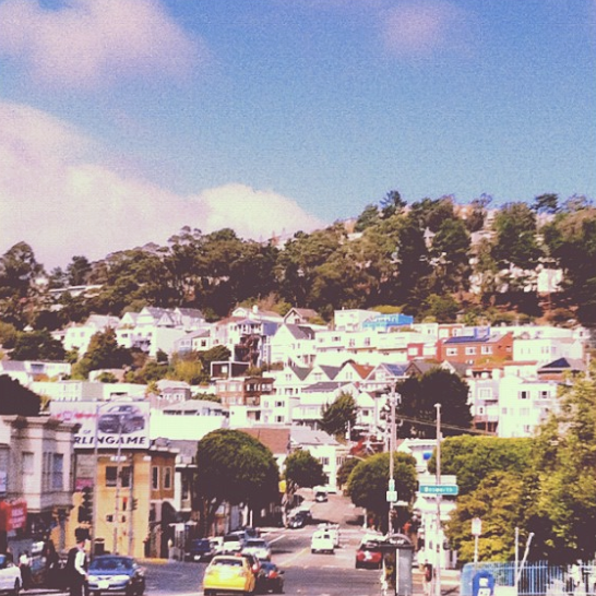 'The Glen Park neighborhood in SF, I love this neighbourhood!'