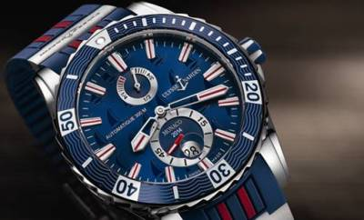 Ulysse Nardin Marine Diver - Monaco 2014. Reserve yours at Oster Jewelers today!