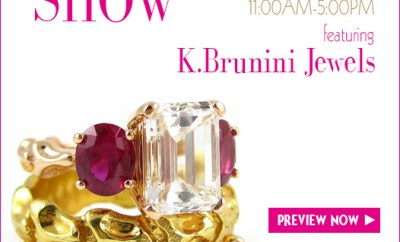 K. Brunini Trunk Show December 17 at Oster Jewelers