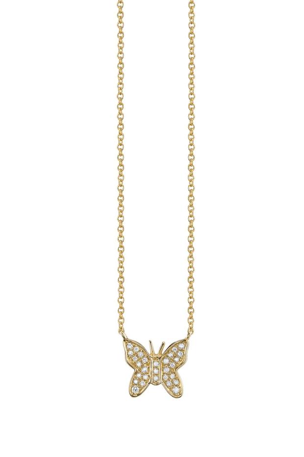 Sydney Evan Diamond Butterfly Necklace | Oster Jewelers