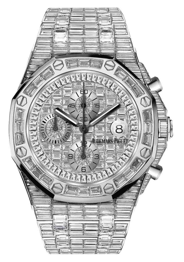 Audemars-Piguet-Royal-Oak-Full-Pave-Diamond-Watch-2015-1