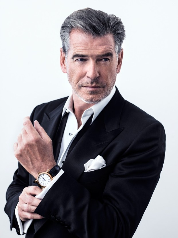 Pierce Brosnan for Speake-Marin