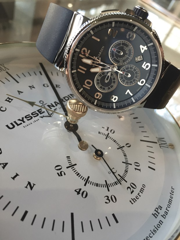 Ulysse Nardin Marine Chronograph Manufacture at Oster Jewelers