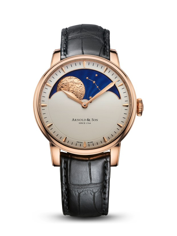 Arnold & Son HM Perpetual Moon RG5N Cream | Oster Jewelers Blog