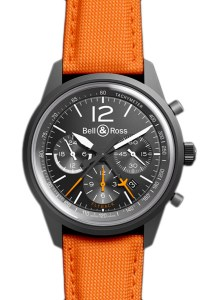 Bell & Ross 43mm Blackbird Flyback Chrono Watch | 20% off all Bell & Ross watches in stock at Oster Jewelers