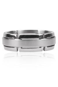Furrer Jacot Magiques Cut Out Platinum Band | Oster Jewelers Blog