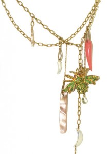 Pade Valva Peridot Bee Charm Necklace | Oster Jewelers Blog