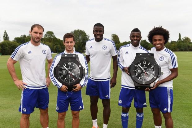 Soccer - Barclays Premier League - Chelsea FC / Hublot Sponsorship Announcement - Cobham Training Ground