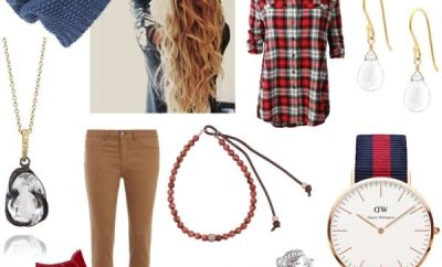Saturday Style at Oster Jewelers: Daniel Wellington & Flannel