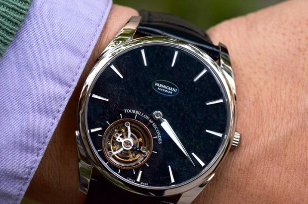 The Parmigiani Tonda 1950 Tourbillon is the worlds thinnest automatic flying tourbillon | Oster Jewelers Blog