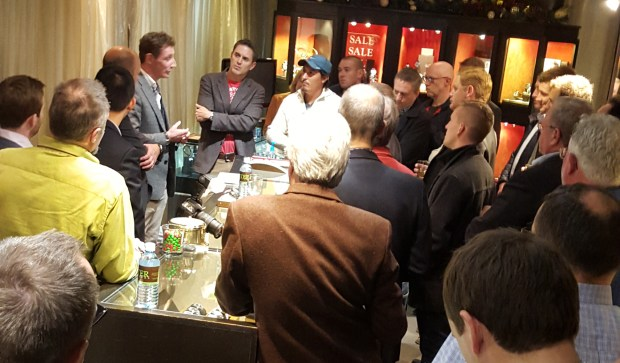Nick English Bremont Event at Oster Jewelers