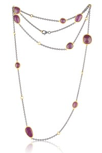 Lika Behar 34.03ctw Rosecut Ruby Necklace | Oster Jewelers