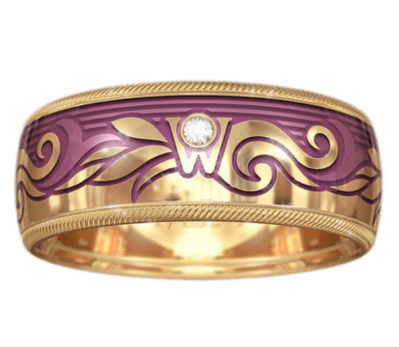 Wellendorf Rose Gold Ring