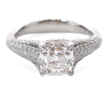 PRECISION SET ELEGE DIAMOND RING