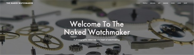 The Naked Watchmaker Website