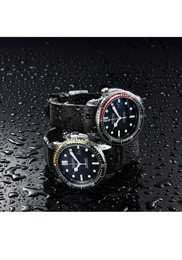 Bremont_S2000 Marine Red & Yellow Dive