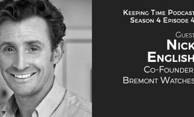 Nick English | Co- Founder of Bremont Watches