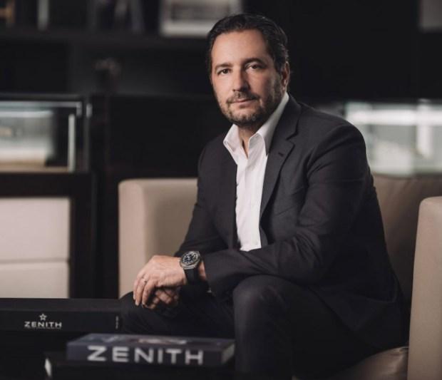 Zenith's Julien Tornare
