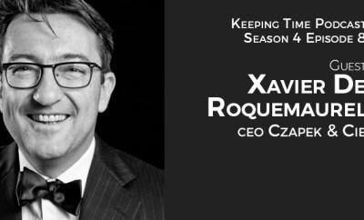 Xavier De Roquemaurel CEO Czapek & Cie