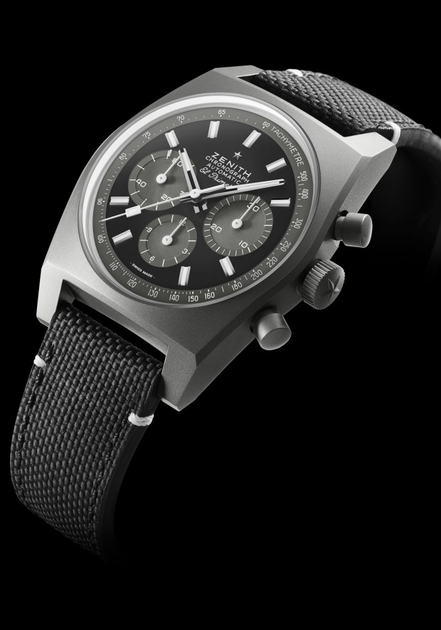 Zenith Chronomaster Revival A-384 Shadow | OsterJewelers.com