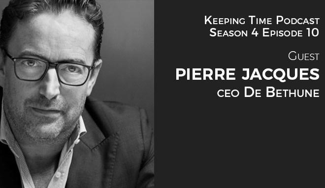 Pierre Jacques CEO DeBethune