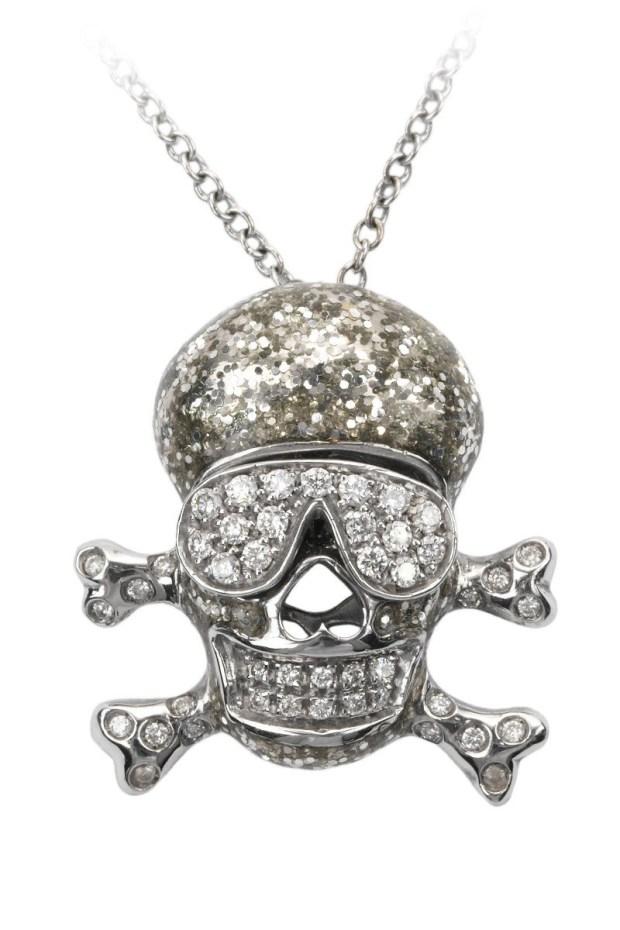 Adolfo Courrier Glitter Skull | OsterJewelers.com