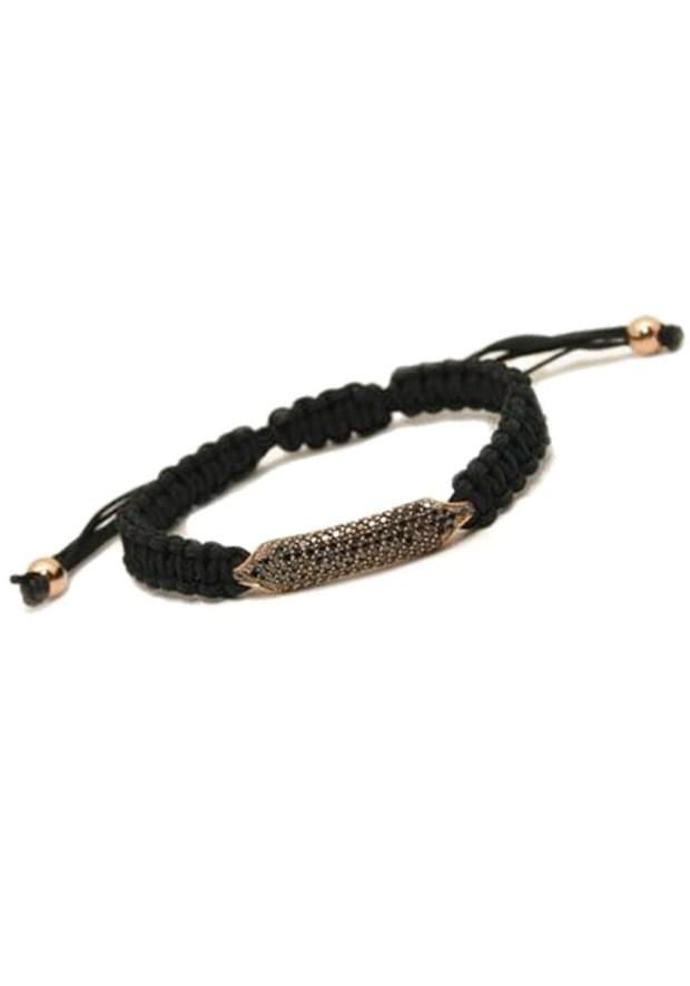 Rahaminov - Black Diamond Cord Bracelet2