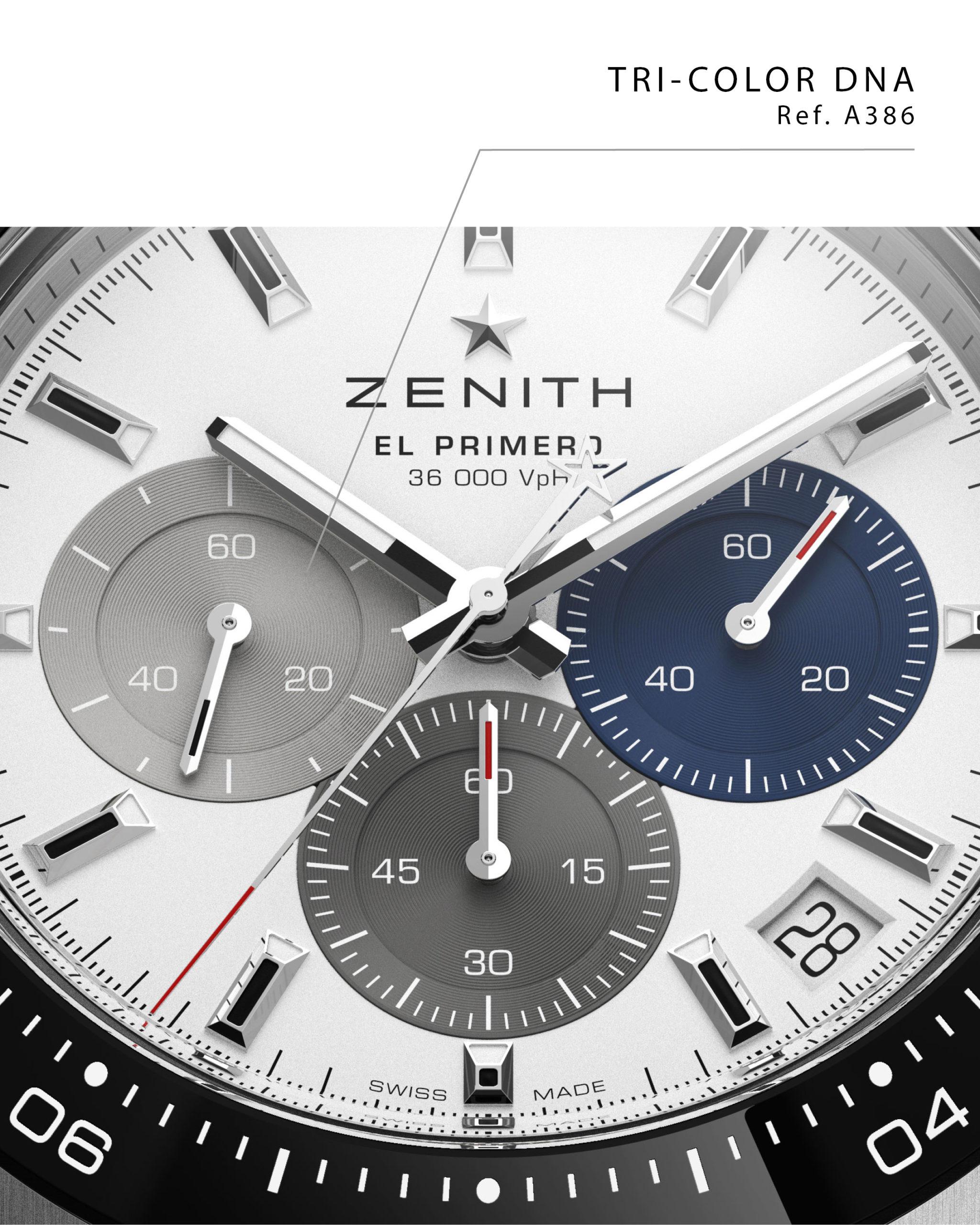Zenith El Primero 3600 automatic