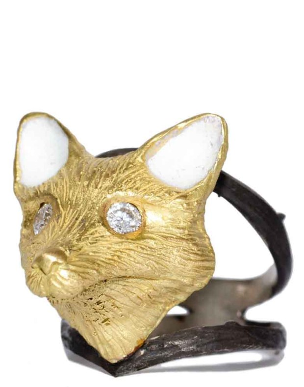 Melinda Risk Fox Spirit Animal Ring