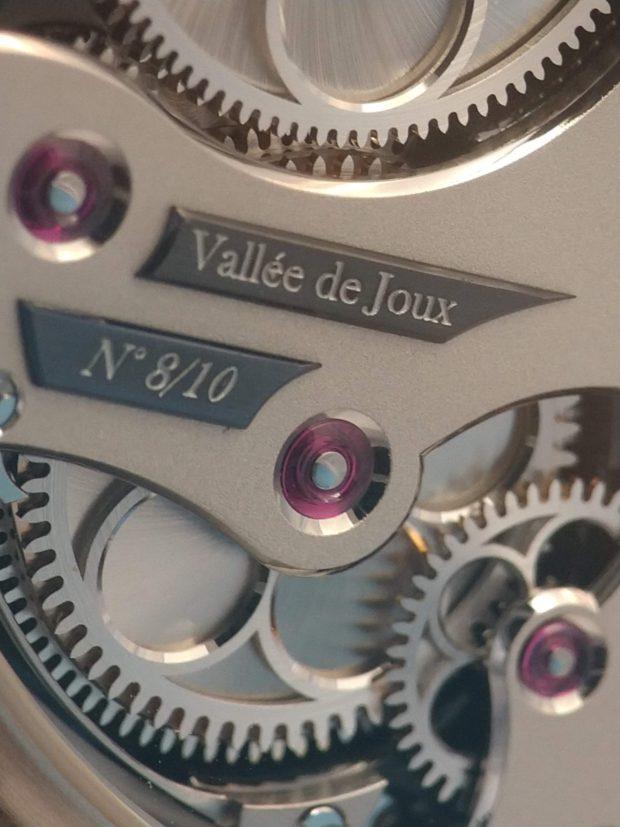 Romain Gauthier Insight Micro Rotor (closeup of movement)