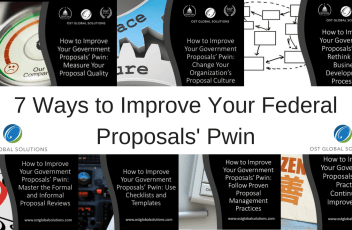 7 Ways to Improve Your Federal Proposals' Pwin