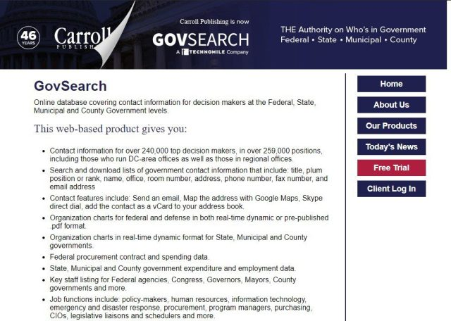 federal opportunity research tools
