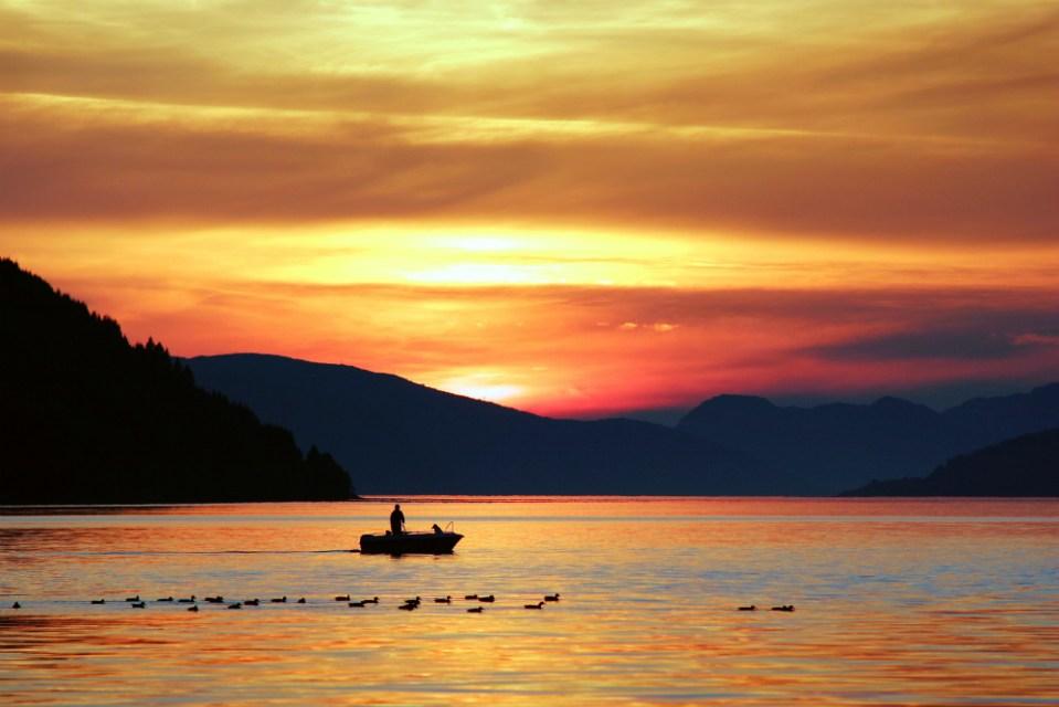 Шесть мест для рыбалки