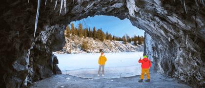 Большое маленькое путешествие: что посмотреть в горном парке «Рускеала»