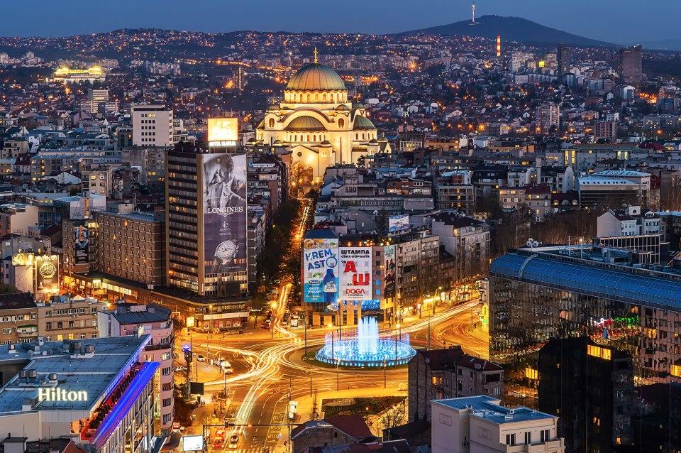 Города Сербии