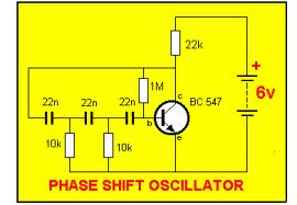 Interview questions on RC Phase Shift Oscillator with answers