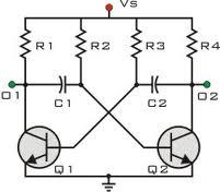 a stable multi vibrator
