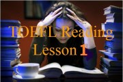 toefl test - reading