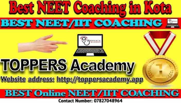 Best NEET Coaching Institute in Kota