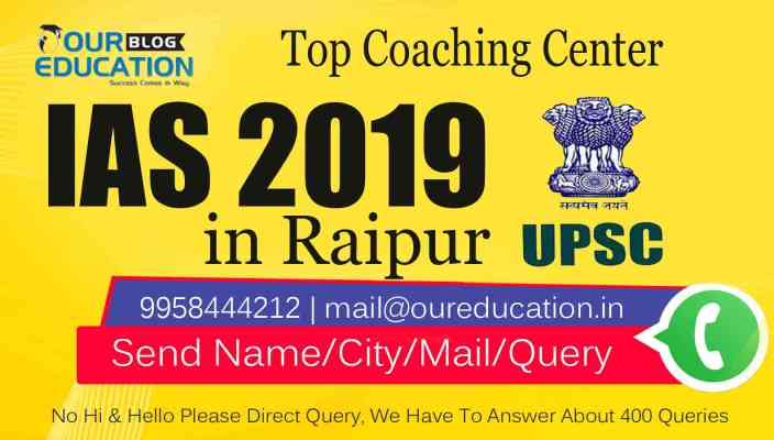 Top 10 IAS Coaching Institutes in Raipur - UPSC Toppers Strategy