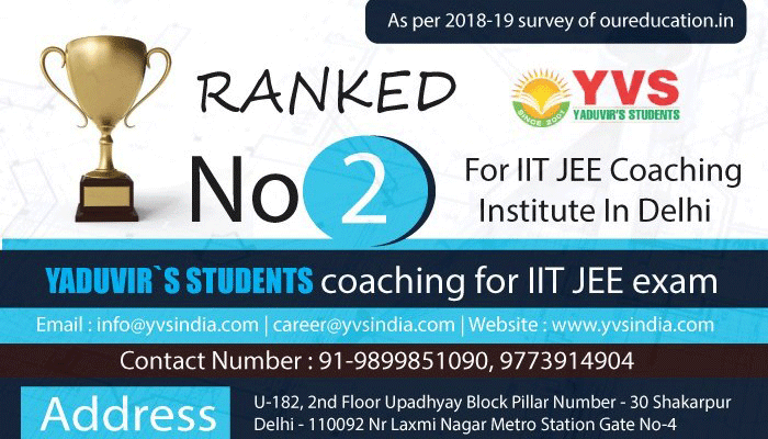 IIT JEE Coaching in East Delhi