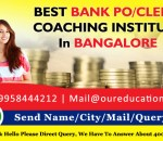 BEST BANK PO/CLERK COACHING INSTITUTE IN BANGALORE