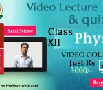 Physics practice set for CLASS XII