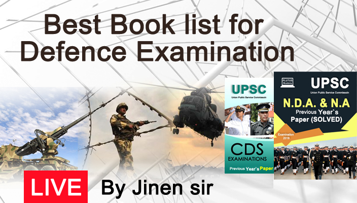 Best Book list for Defence Examination