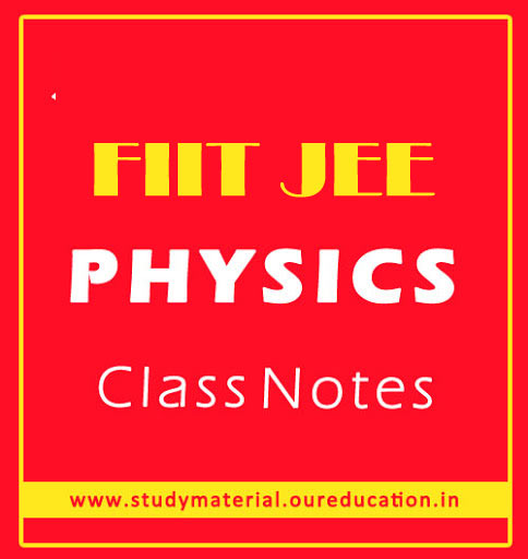 IIT-JEE PHysics Notes