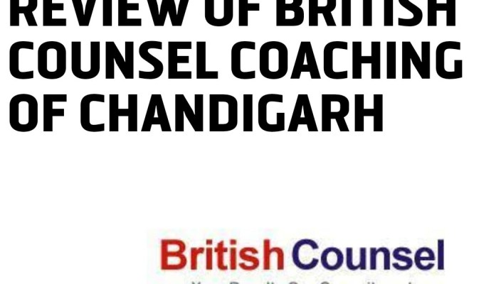 Review of the British Counsel Chandigarh