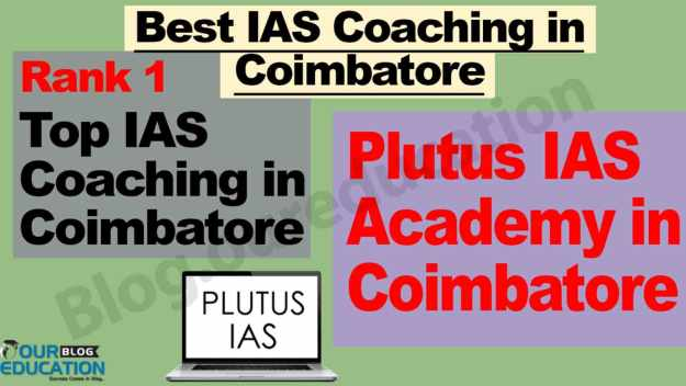 Best Civil Services Coaching in Coimbatore